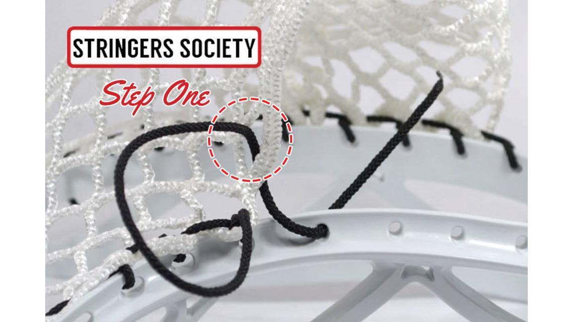 special interlock lacrosse knot