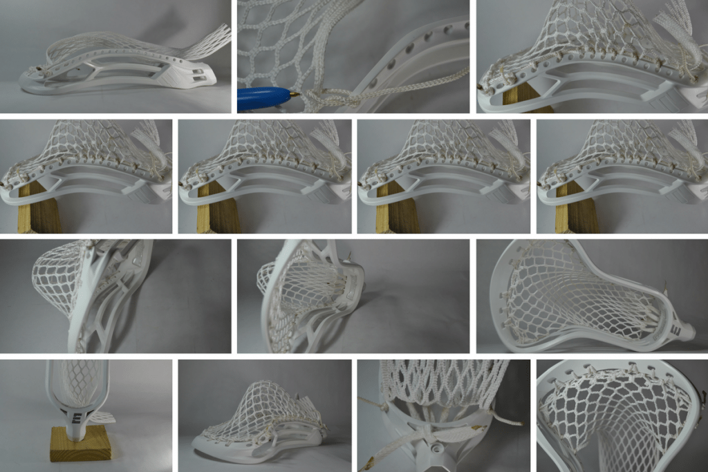 epoch hawk prequel lacrosse mesh stringing
