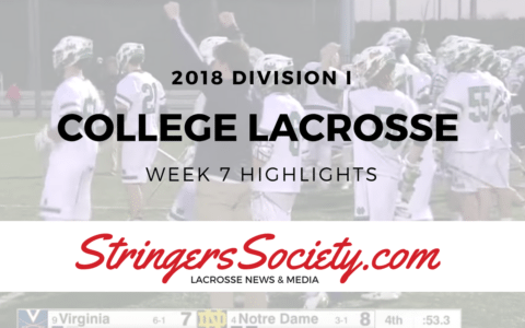 college lacrosse highlights